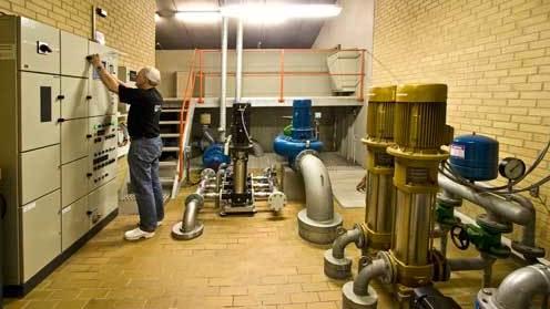 pumper til grundvand