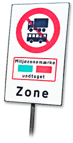Environmental zones in Denmark